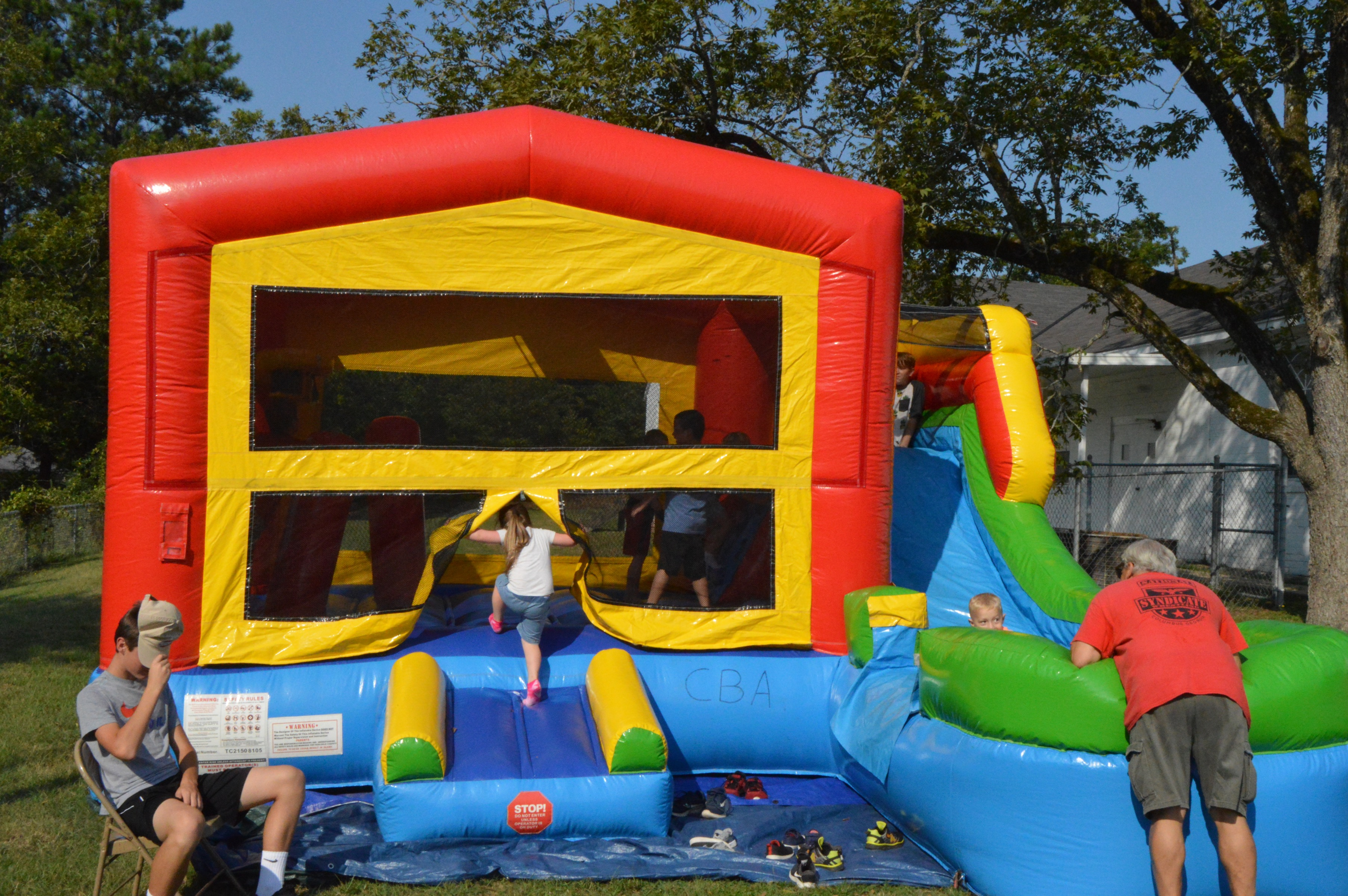 Block Party Bouncy House